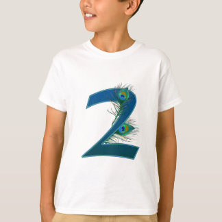 Number 2 or 2nd numeric design T-Shirt