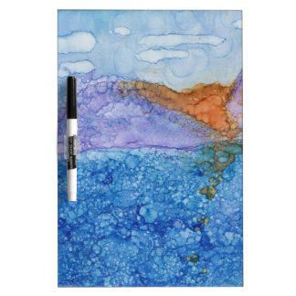 Number 2 Tile Art Dry-Erase Board