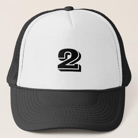 Number 2 trucker hat