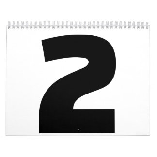 Number 2 two calendar