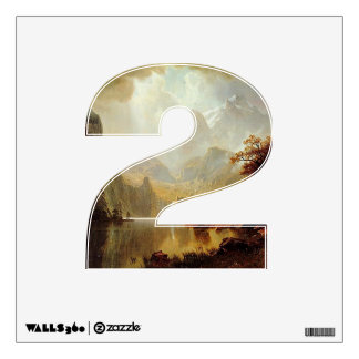 Number 2 Wall Decal - Numeral Two thenumeral2
