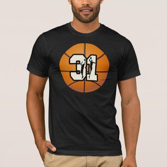 Number 31 Basketball T-Shirt