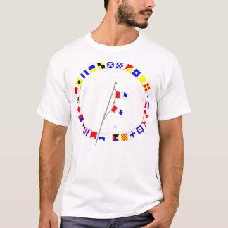Number 33 Nautical Signal Flag Hoist T-Shirt