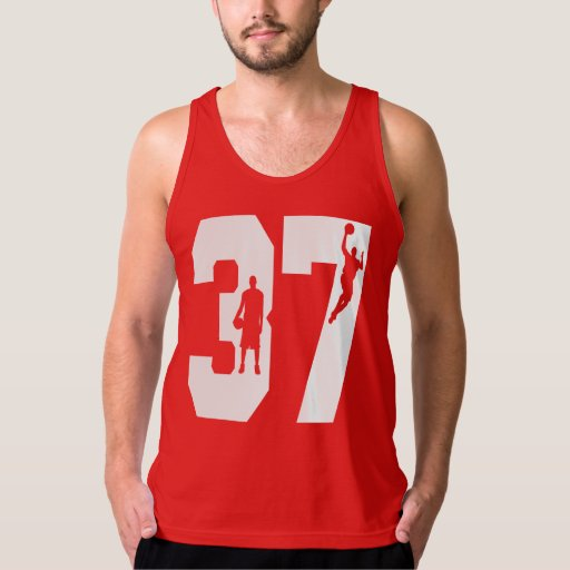 Number 37 Basketball Shirt