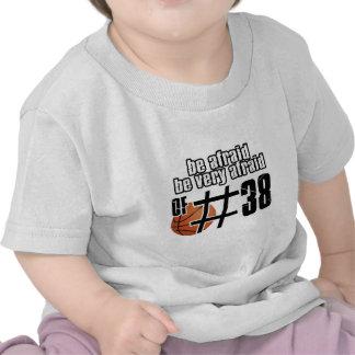 Number 38 Basketball designs Tshirts