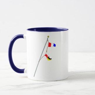 Number 39 Nautical Signal Flag Hoist Mug