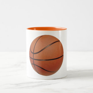 Number 3 Basketball and Player Two-Tone Coffee Mug