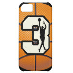 Number 3 Basketball iPhone 5C Cover