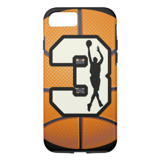 Number 3 Basketball iPhone 8/7 Case