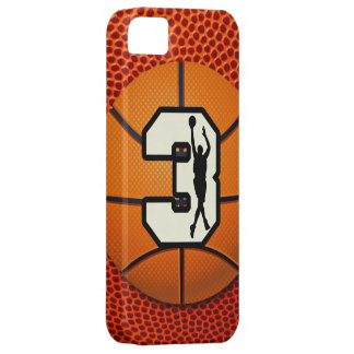 Number 3 Basketball iPhone SE/5/5s Case