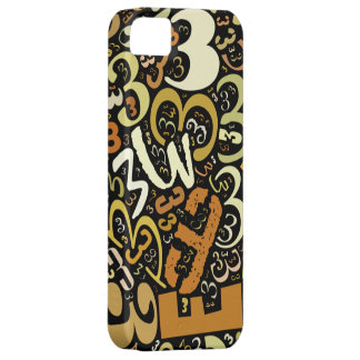 Number 3 Collage iPhone SE/5/5s Case