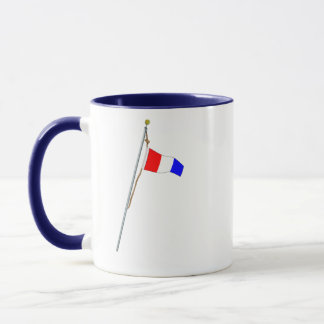 Number 3 Nautical Signal Flag Hoist Mug