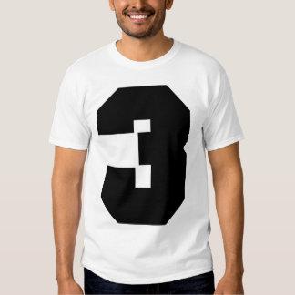Number 3 Sport (frontside and backside print) Shirt