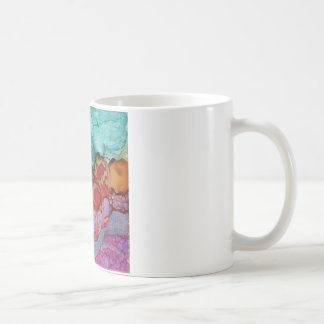 Number 3 Tile Art Coffee Mug