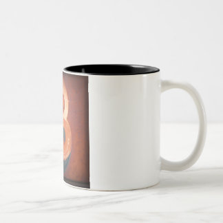 Number 3 Two-Tone coffee mug