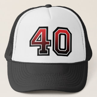 Number 40 Classic Trucker Hat