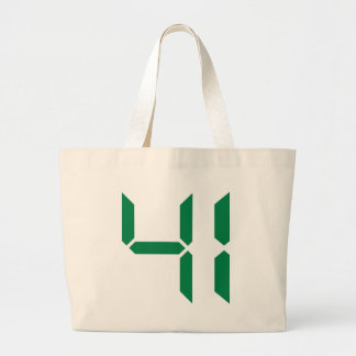 Number – 40 - fourty canvas bags