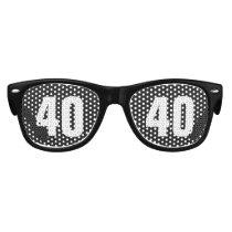 Number 40 Sunglasses