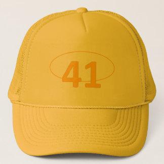 Number 41 trucker hat