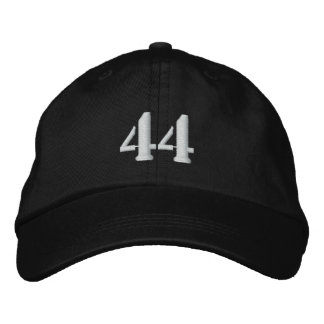 Number 44 Personalized Adjustable Hat