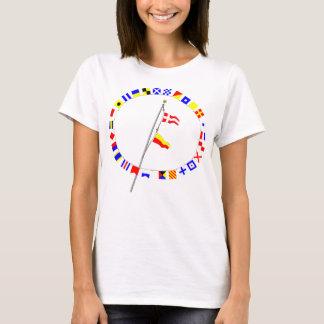 Number 47 Nautical Signal Flag Hoist T-Shirt