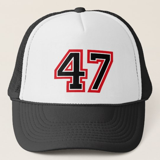 Number 47 trucker hat  496eb36eed5