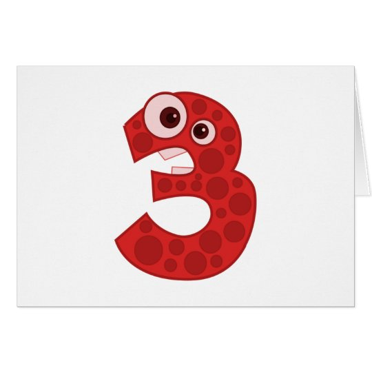 Number 4 card
