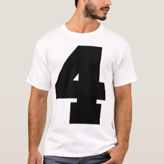 Number 4 Sport T-Shirt