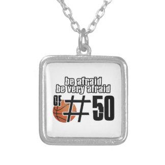Number 50 Basketball designs Custom Jewelry