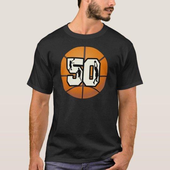 Number 50 Basketball T-Shirt