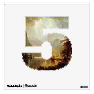 Number 5 Wall Decal - Numeral Five thenumeral5