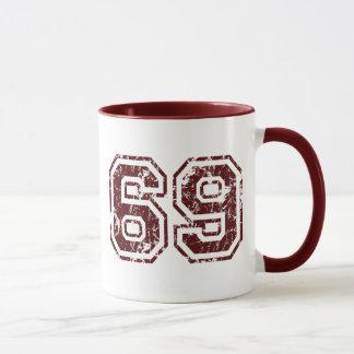Number 69 mug