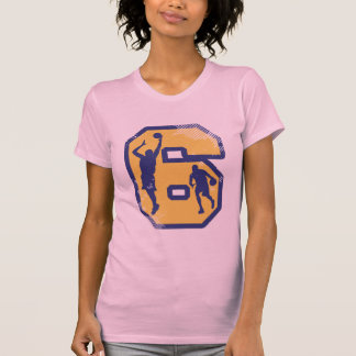 Number 6 and Basketball Players T-Shirt