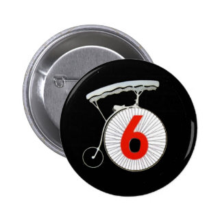 Number 6: The Prisoner Pinback Button