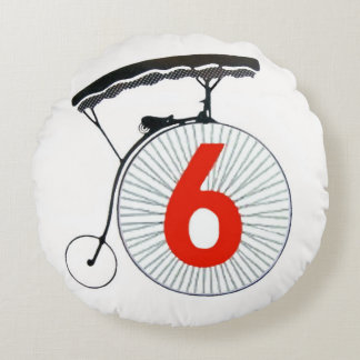 Number 6 THE PRISONER Round Pillow