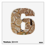 Number 6 Wall Decal - Numeral Six thenumeral6