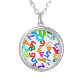 number-70828_1920 LEARNING EDUCATION COLORFUL 3DD Pendants