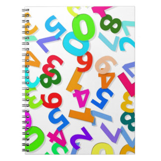 number-70828_1920 LEARNING EDUCATION COLORFUL 3DD Notebook