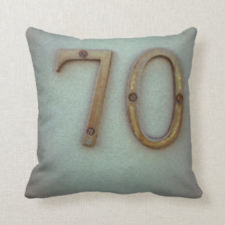 Number 70 Pillow