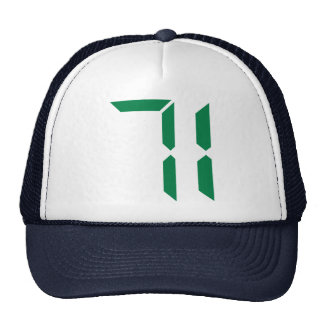 Number – 71 trucker hat