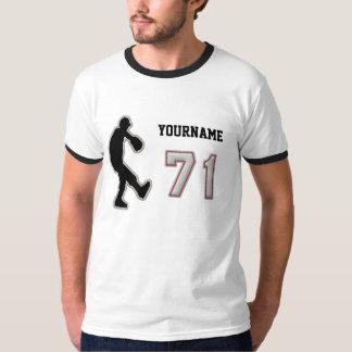 Number 71 Pitcher Uniform - Cool Baseball Stitches T-Shirt