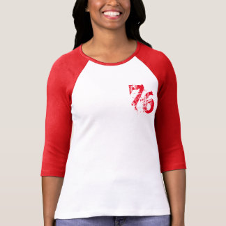 number-76 t-shirt design, customizable