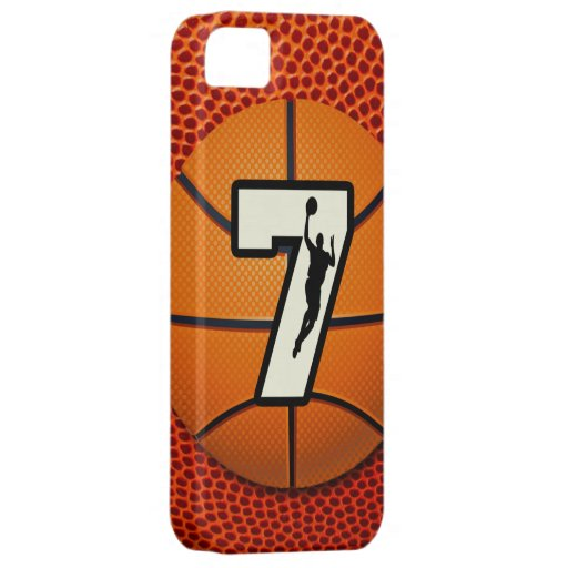 Number 7 Basketball iPhone 5 Cover