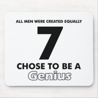 Number 7 designs mouse pad