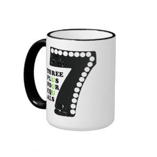 Number 7 ringer mug