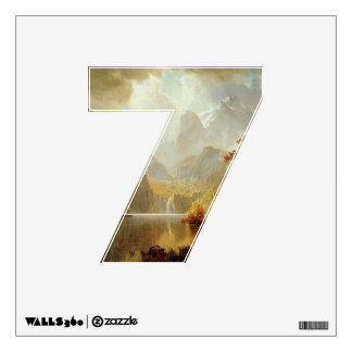 Number 7 Wall Decal - Numeral Seven thenumeral7