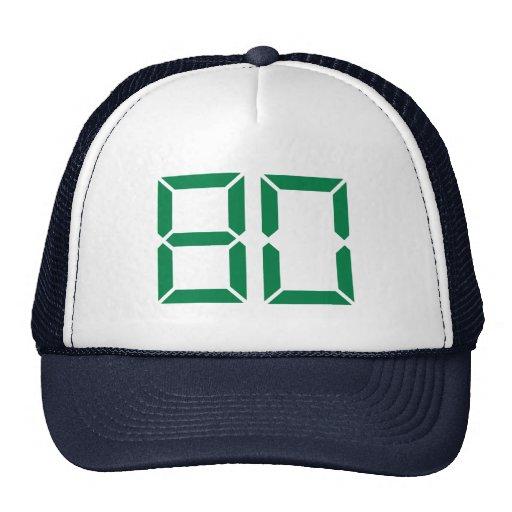 Number – 80 trucker hat