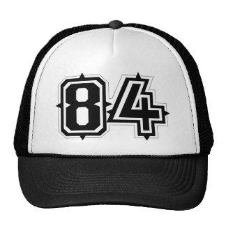 Number 84 trucker hat