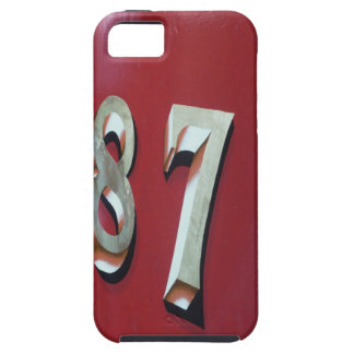 Number 87 iPhone SE/5/5s case