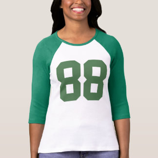 number-88 t-shirt design, customizable